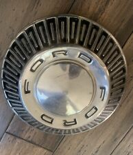 Extremely Rare 1965-67 FORD GALAXIE 500 ENGRAVED HUBCAP Russel Demolition Derby