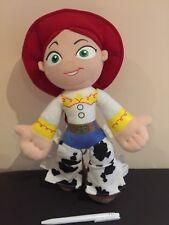 """Walt Disney Pixar Toy Story Cow Girl Jessie Soft Toy Plush 15"""""""