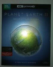 Planet Earth II 4K Ultra HD BR NS  (DVD, 2017, 3-Disc Set, ) free shipping