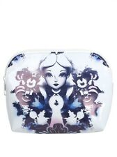 Disney Alice In Wonderland Watercolor Makeup Cosmetic Bag New With Tags!