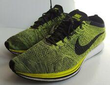 Nike Flyknit Racer Volt Sequoia  Trainers UK 14, EU 49.5