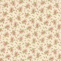 Moda Fabrics 3 Sisters Favourites 3707 11  ~ per long quarter. Cream floral