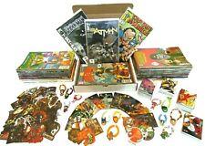 Kids & Teen Comic Book Grab Bag Mixed Lot 12 Marvel/Dc Comics Spiderman Batman