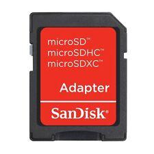 Sandisk MicroSD to SD adapter, UK seller