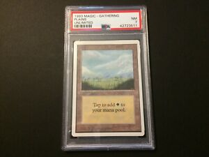 1993 PLAINS, Unlimited, Graded PSA 7 NEAR MINT (MTG Land)
