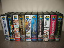 KING OF FIGHTERS FULL SET SERIES NEO GEO AES IMPORT JAP 10 GAMES COLLECTION!