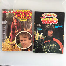 Classic Doctor Who Annuals 1980 and 1981 Marvel Comics BUNDLE