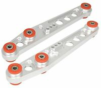 CHROME/RED ADJUSTABLE SUSPENSION REAR LOWER CONTROL ARM FIT ACURA INTEGRA 90-93