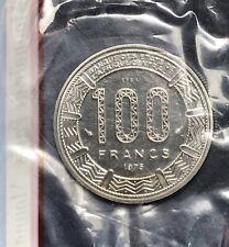 ESSAI TCHAD 100 FRANCS 1975 FDC