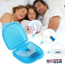 Stop Snoring Mouthpiece Apnea Aid Sleep Anti Snore Bruxism Grind MouthGuard USA