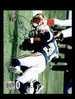 Isaac Bruce PSA DNA Coa Hand Signed 8x10 Photo Autograph