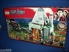 LEGO 4738 Harry Potter - HAGRID'S HUT  Retired Sealed Ron Hermione mini figure