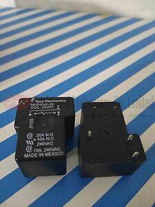 T90S5D42-24 Power Relay 20A 24VDC 5 Pins x 10pcs