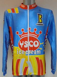 Ysco Ice Cream Cycling Jacket Cycle Shirt Jersey Medium Trikot
