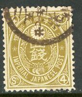 Japan 1888 🔥 4 Sen  Used 🔥 K551