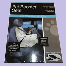 Small Dog Booster Seat, Pet Seat for Car, Cars