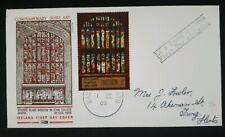 1969 Eire Stamp FDC - Contemporary Irish Art - 1/9/1969 - Ireland