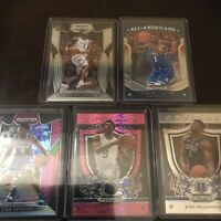 Panini Prizm Draft Zion Williamson Reddish Barrett Duke RC Pink Base Lot X5