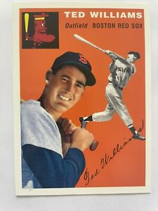1994 Upper Deck All-Time Heroes 1954 Topps Archives Ted Williams #1