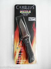 Camillus SIZZLE Robo AUS-8 Knife Assist Open sizzler Satin Finish Part Serrated
