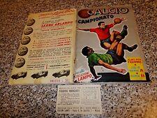 ALBUM CALCIATORI CALCIO CAMPIONATO 1962 1963(GRIGIO)LAMPO ORIGINALE COMPLETO OTT