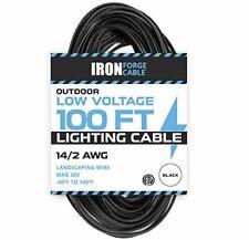 14/2 Low Voltage Landscape Wire - 100ft Outdoor Low-Voltage Cable for Landscape