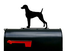 Weimaraner Dog Mailbox Topper / Plaque / Sign