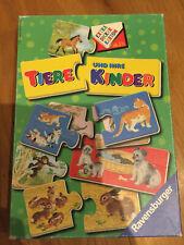 Ravensburger Puzzle Spiel ?Tiere und ihre Kinder?