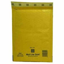 100 C/0 Gold Mail Lite Padded Bubble Lined Envelopes Postal Bags 150 X 210mm