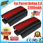 2X 11.1V 3100mAh Lipo Battery Replacement For Parrot Bebop 2 RC Drone Quadcopter