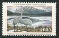 CANADA B.O.B. FWH16 MINT FEDERAL WILDLIFE HABITAT CONSERVATION STAMP