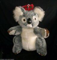 "14"" VINTAGE PACIFIC RIM SOURCES CHRISTMAS KOALA BEAR STUFFED ANIMAL PLUSH TOY"
