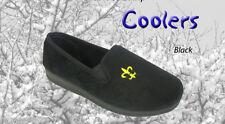 Pantofole da uomo neri