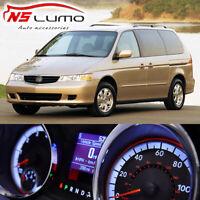 Green Instrument Gauge Cluster Light Bulbs LED Kit For 1999-2004 Honda Odyssey