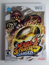 Mario Strikers Charged Original 1st Print Nintendo Wii Brand New Factory Sealed
