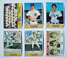 1979 Topps Detroit Tigers Team Set (26 cards) Near Mint NM