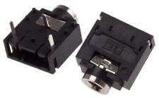 RS Pro 3.5 mm Ángulo Recto Montaje Pcb Jack Socket, 3, 500 V