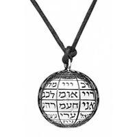 72 Name of God Pendant Silver 925 Ball Amulet Kabbalah Jerusalem Holy Land Gift