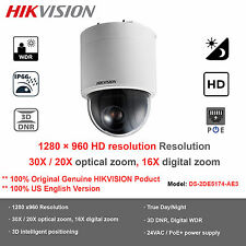 NEW 1.3MP 20X Hikvision DS-2DE5174-AE3 HD720P Ceiling Mount PTZ Network Dome/PoE
