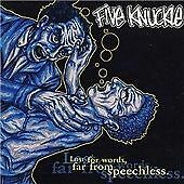 Five Knuckle - Lost for Words, Far from Speechless (2002) CD Album