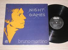 BRUNO MARTINO - NIGHT GAMES - LP 33 GIRI ITALY