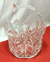 "Fifth Avenue Crystal Ltd. 8"" Brides Centerpiece Display Basket 24% Lead Poland"