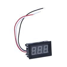 5x(Mini Pannelli Voltmetro Tester Digitale DC 0-30V Giallo 3 Cifre