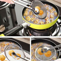 Multi-functional Stainless Steel Colander Oil-Frying Filter Fried Food Clip #