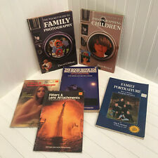 Vintage Photography Books -Lot of 6- Family Children Lens Filters 70s 80s 90s