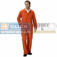 Adults New Coverall Overall Boiler Suit Workwear Mens Garage Uniform Boilersuit