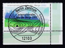 BRD 2002 gestempelt ESST Berlin Eckrand unten rechts MiNr. 2231