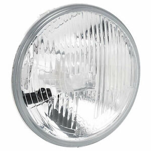 """HELLA 1058HD HEADLIGHT ROUND GLASS INSERT 7"""" OR 178mm FOR FORD HOLDEN TOYOTA x1"""