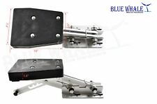 BLUE WHALE Aluminum Outboard 2-Stroke 7.5 HP to 20 HP Motor Bracket from USA