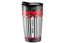 STARBUCKS x ANNA SUI 2015 ROSE STRIPE CERAMIC (10 oz) TUMBLER *BRAND NEW in BOX!